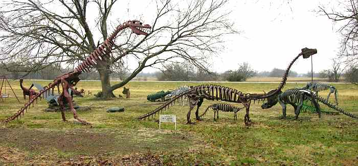 Dinosaur Not So National Park - Erie, Kansas
