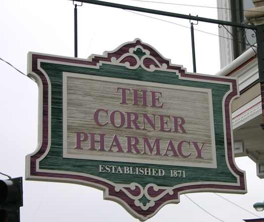 The Corner Pharmacy - Leavenworth, Kansas