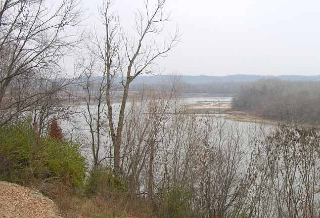 Missouri River from United States Disciplinary Barracks