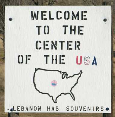 Geographical Center of the United States