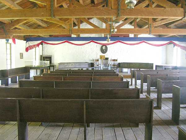 First Territorial Capital of Kansas meeting room