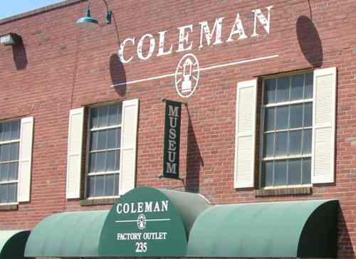 Coleman Factory Outlet and Museum - Wichita, Kansas