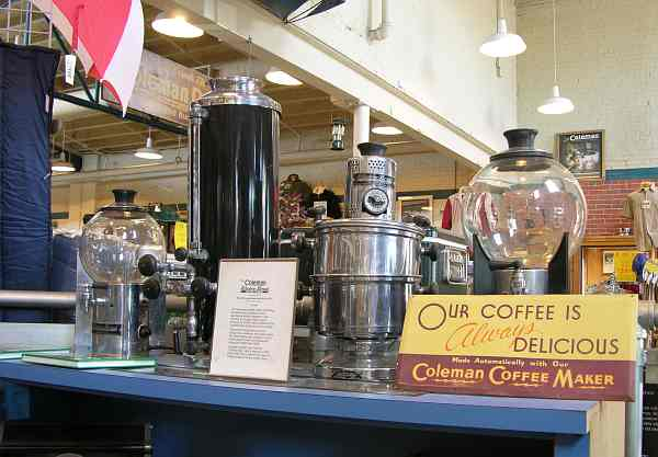 Coleman ccoffee makers