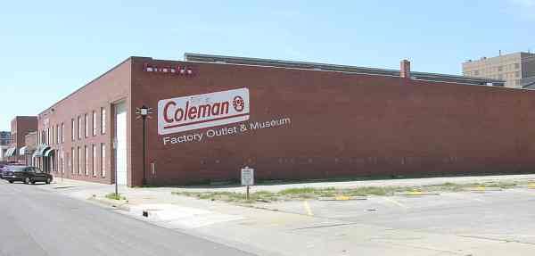 Coleman Factory Outlet and Museum