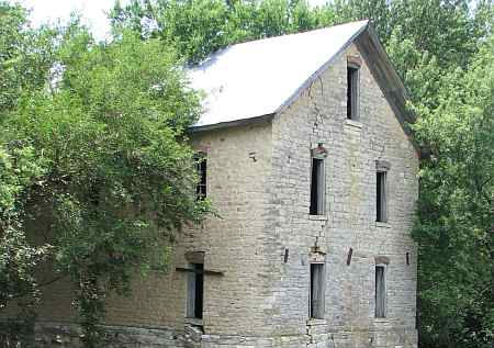 Drinkwater & Schriver Flour Mill - Cedar Point, Kansas