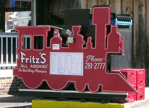 Frotz's Railroad Restaurant -  nominated for 8 Wonders of Kansas Cusiine