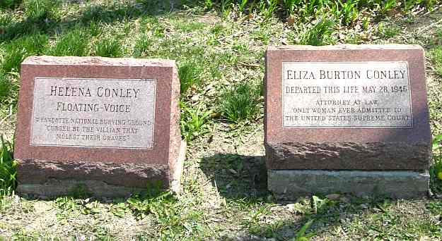 Conley graves in the Wyandotte National Buring Ground