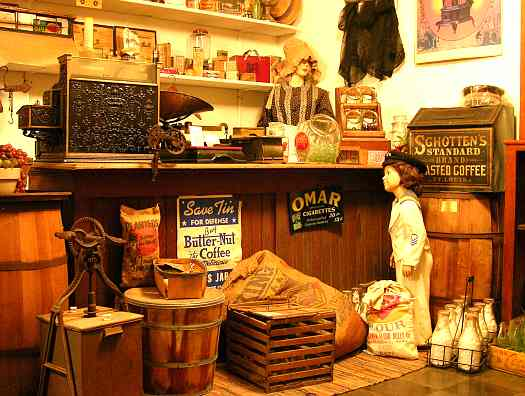 General Store at the Independence kansas Historical Museum.