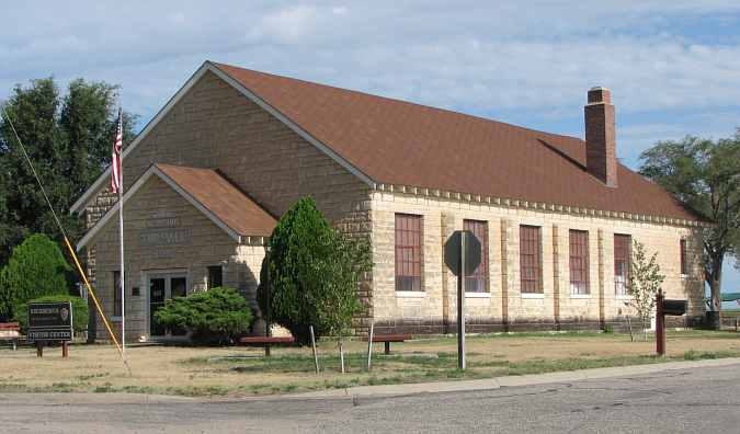 Visitor Center - Nicodemus Township Hall