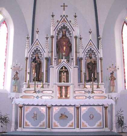 St. Boniface Catholic Church altar