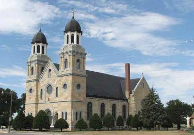 St. Joseph's Catholic Church - Damar, Kansas