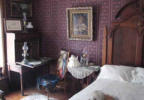 Haunted bedroom?