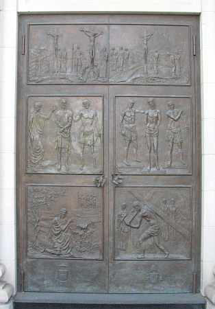 Catherdral of the Immaculate Conception doors