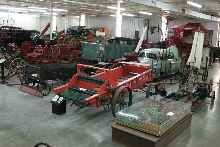 Farm machinery and implements