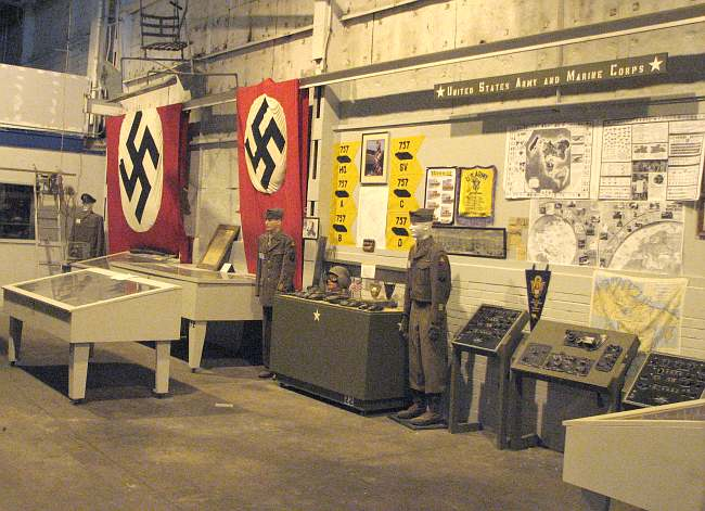 World War 2 displays at Kansas Museum of Military History