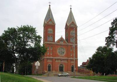 St. Benedict's Catholic Church - Atchison, Kansas