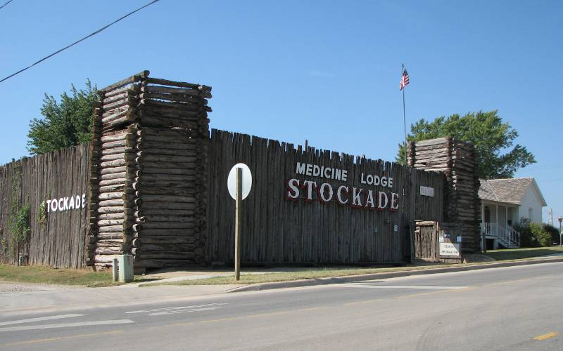 Carry Nation's Home and Stockade Museum