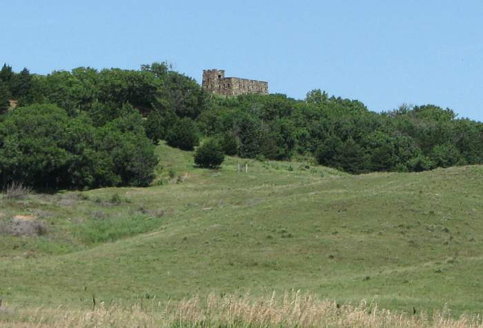 Coronado Heights castle