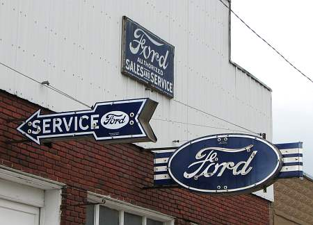 Antique Ford Signs