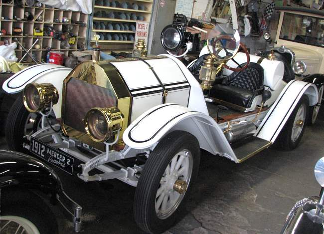 replica 1912 Mercer Raceabout