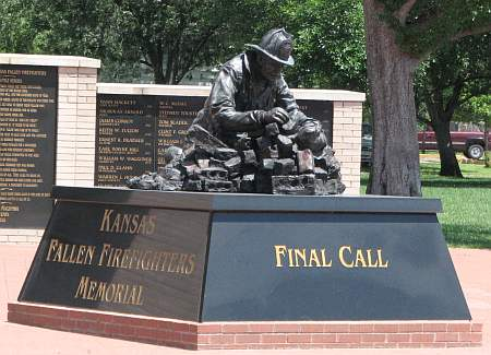 Kansas Fallen Firefighters Memorial - Wichita Kansas