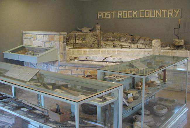 Post Rock Museum displays