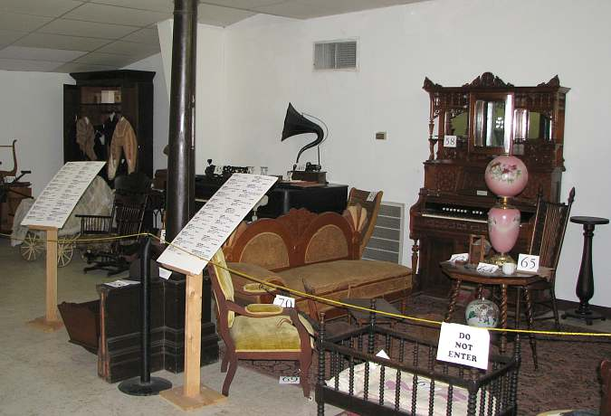 Exhibits in the Cherokee Strip and Land Rush Museum