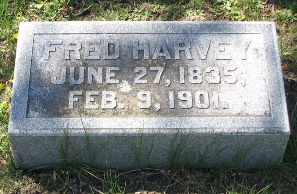 Fred Harvey headstone