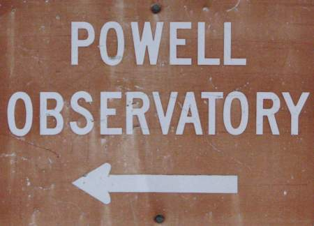 Powell Observatory - Louisburg, Kansas