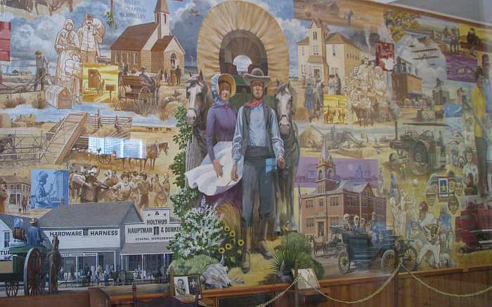 Rawlins County Mural by Rudolph Wendelin