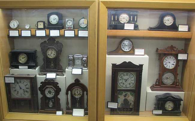 Clocks at the Rawlins County Museum