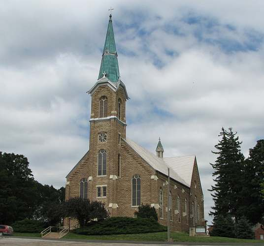 St. Mary's Catholic Church - St. Benedict, Kansas