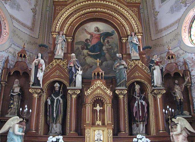 St. Mary's Catholic Church main altar