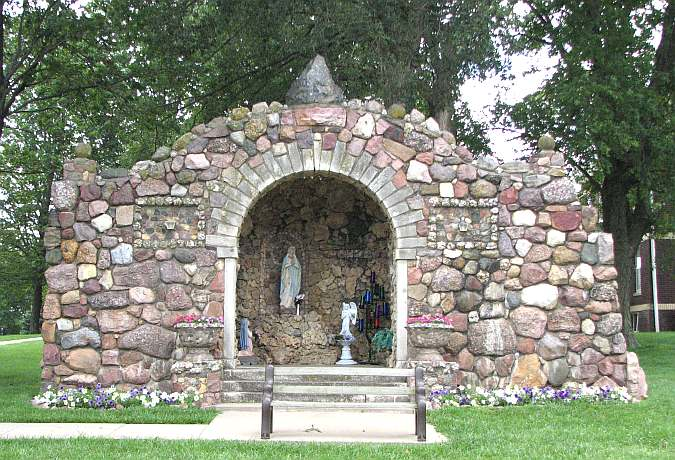 St. Mary's Catholic Church Grotto