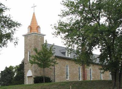 St. Patrick's Catholic Church - Atchison, Kansas