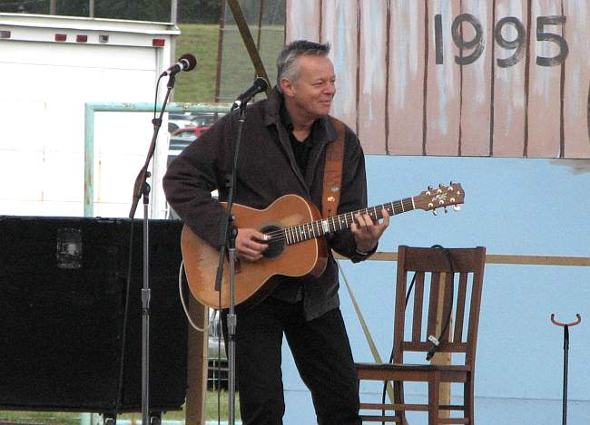 Tommy Emmanuel on Stage #1 at Winfield's Walnut Valley Festival