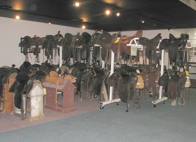 Saddle Collection - Meade County Historical Museum