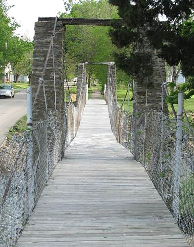 Moline Swinging foot Bridge