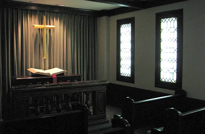 Filley meditation chapel - Collins Library