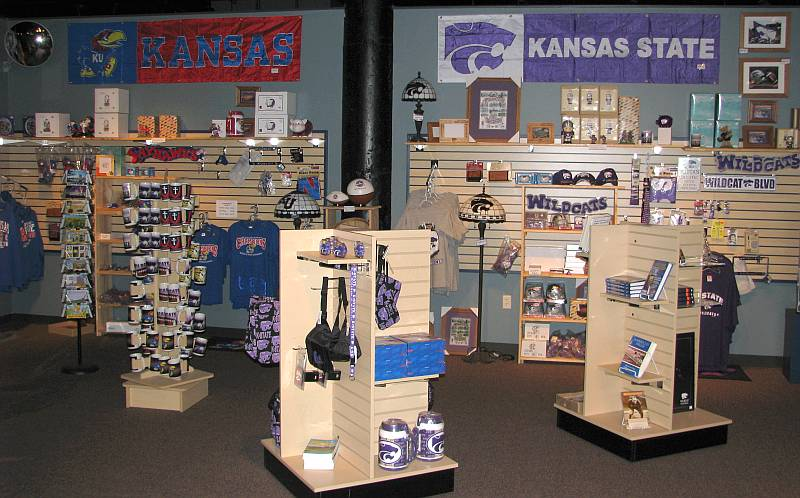 Kansas Sports Hall of Fame gift shop