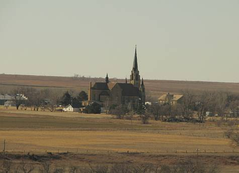 Holy Cross Shrine - Pfeifer, Kansas