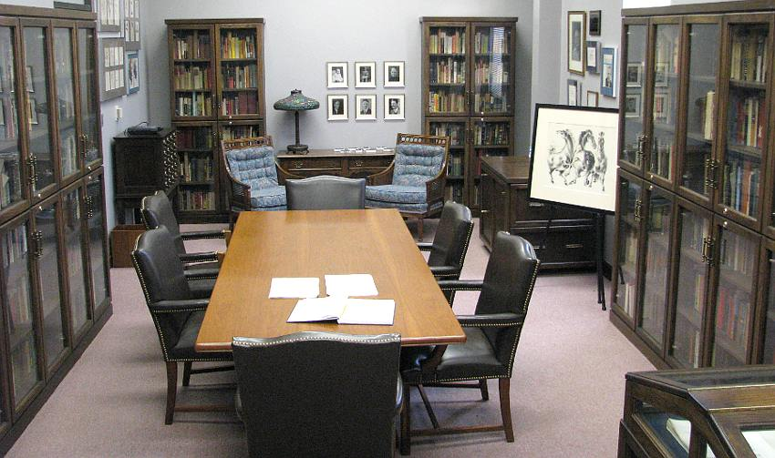 WIlliam Inge exhibit ICC library