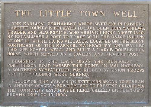 John A Mathews Park - Little Town Well