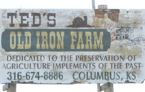 Ted's Old Iron Farm and Museum - Columbus, Kansas