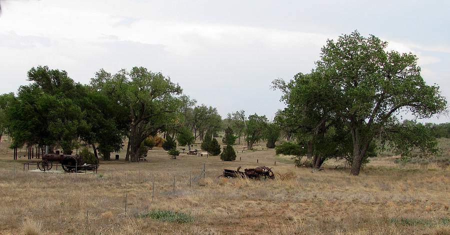Cottonwood Picnic Area - Cimarron National reassland