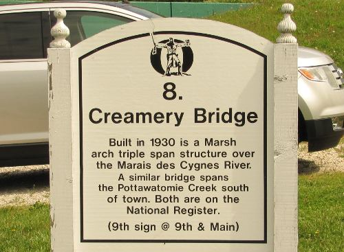 Creamery Bridge and Osawatomie Dam - Osawatomie, Kansas
