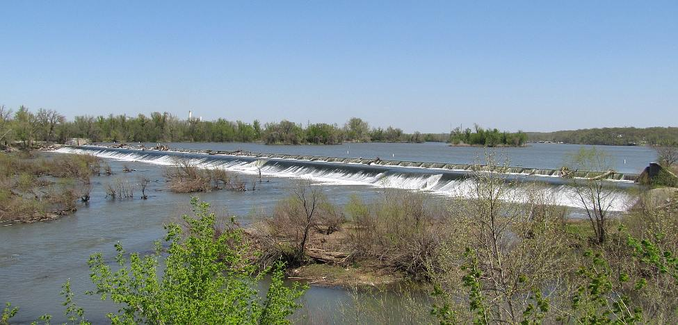 Empire Power Dam Falls - Riverton, Kansas