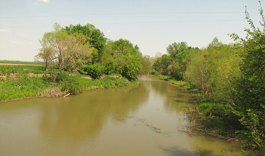 Independence Creek - Atchison, Kansas