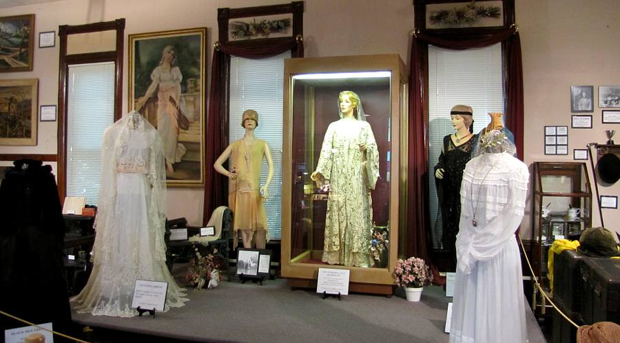 Marion Historical Museum - dresses