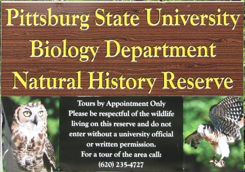 Nature Reach Natural History Reserve - Pittsburg State University